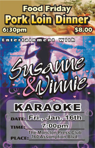 Karaoke Jan 16
